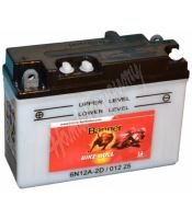 Motobaterie Banner BIKE BULL 01225, 6N12A-2D, 6V 12Ah
