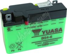 Motobaterie Yuasa B54-6 (6V 12Ah)