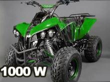 Dětská elektro čtyřkolka ATV Warrior XL 1000W 48V zelená