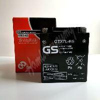 GS Motobaterie GTX7L-BS 12V 6Ah 100A