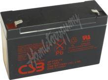 Záložní akumulátor CSB GP6120 F2 (6V 12Ah  150/180A)