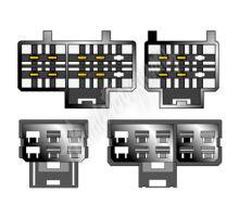 sot-063 Kabeláž pro HF PARROT/OEM Nissan modely -2000