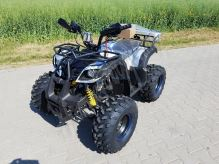 """Dětská čtyřtaktní čtyřkolka ATV Hummer RS 125ccm DELUXE maskáč modr 3 rych. poloautomat 8"""""""