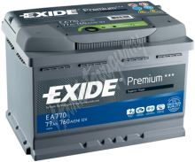 Autobaterie EXIDE Premium EA602  (12A, 60Ah, 600A)