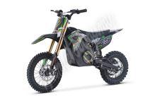 Elektrická motorka MiniRocket Coyote 1300W zelená