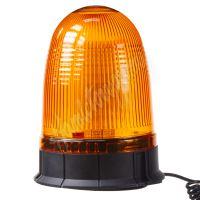 wl55 x LED maják, 12-24V, oranžový magnet, 80x SMD5050, ECE R10