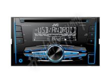 KW-R520 JVC 2DIN autorádio s CD/USB/2xAUX/Multicolor