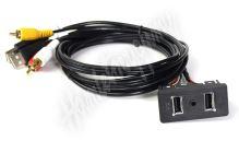 551FO1 USB+JACK konektor Ford