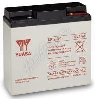 Záložní akumulátor Yuasa NP 17-12 I (12V 17Ah)