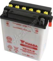Motobaterie Yuasa YB12A-B (12V, 12Ah, 165A)