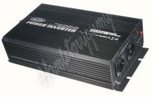353012 Měnič napětí z 12/230V + USB, 3000W