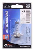 Žárovka 12V  H7  55W PX26d blister 1ks