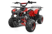 """Dětská čtyřtaktní čtyřkolka ATV Hummer RS 125ccm červená 1 rych. poloautomat 7"""" kola"""