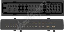 sot-909 Kabeláž pro HF PARROT/OEM Audi s aktivním systémem Bose