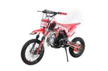 Pitbike MiniRocket Storm 125ccm 14x12, červený