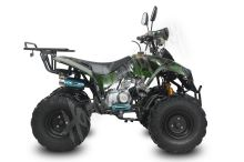 Dětská čtyřtaktní čtyřkolka ATV Street Hummer DELUX 125ccm maskáč zele  3 rych. poloaut. 8
