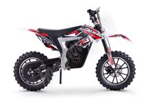 Elektrická motorka Minicross motors Jackal 500W 36V Baterie Lithium červená
