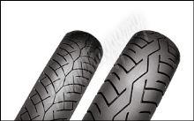 Bridgestone Battlax BT45 110/80 -17 + 130/80 -17 H
