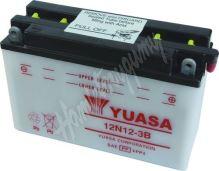 Motobaterie Yuasa 12N12-3B (12V, 12Ah, 120A)