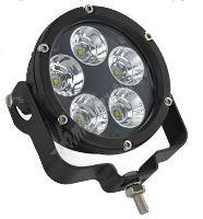 wld501S LED světlo kulaté, 5x10W, o105mm, R112