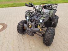 """Dětská čtyřtaktní čtyřkolka ATV Hummer RS 125ccm DELUXE maskáč 3 rych. poloautomat 8"""" kola"""