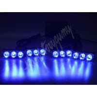 kf326Wblu PREDATOR LED vnější bezdrátový, 12x LED 1W, 12V, modrý