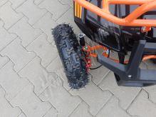 Dětská elektro čtyřkolka ATV MiniHummer 1000W 36V Deluxe Lithium oranžová