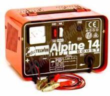 Nabíječka autobaterií Telwin Alpine 14 Boost (12 V 9 A) o kapacitě 14 - 114 Ah