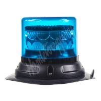 911-C24mblu PROFI LED maják 12-24V 24x3W modrý magnet 133x110mm, ECE R65