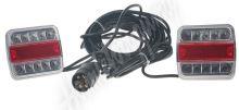 trl13led 2x sdružená lampa zadní LED včetně kabeláže a připojení 7pin