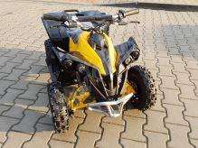 Dětská dvoutaktní čtyřkolka ATV MiniGade 49ccm E-start žlutá