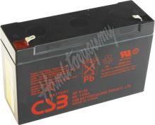 CSB Baterie GP6120 F2 6V 12Ah