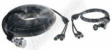 svkab741 Kabelový video set 4pin, 20m + 5m pro 2 kamery