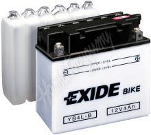 Motobaterie EXIDE BIKE Conventional B38-6A (6V, 14Ah, 80A)
