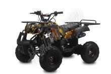 """Dětská čtyřtaktní čtyřkolka ATV Toronto RS 125ccm DELUXE maskáč zl 1rych. poloaut 7""""kol"""