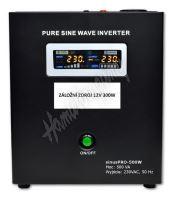 Záložní zdroj 12V 300W SinusPRO - 500W