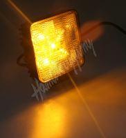 kf717ora Výstražné LED světlo vnější, oranžové, 12V