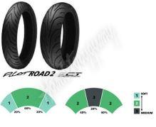 Michelin Pilot Road 2 180/55 ZR17 M/C (73W) TL zadní