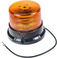 911-75f PROFI LED maják 12-24V 36x0,5W oranžový ECE R65 167x132mm