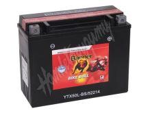 Motobaterie Banner BIKE BULL AGM 52214, YTX50L-BS, YTX24HL-BS