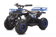 Dětská elektro čtyřkolka ATV MiniHunter 800W 36V Modrá