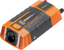35612D Měnič napětí z 12/220V + USB 600W/displej