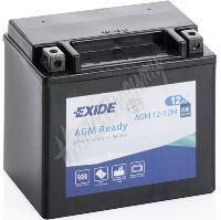 Motobaterie EXIDE 12V 12Ah 200A AGM12-12M, YTX14-BS
