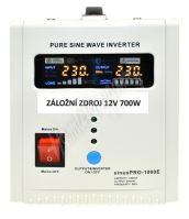 Záložní zdroj 12V 700W SinusPRO - 1000E
