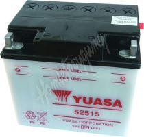 Motobaterie Yuasa 52515 (12V, 25Ah, 247A)