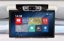 "ds-157AMC Stropní LCD monitor 15,6"" šedý s OS. Android HDMI / USB, pro Mercedes-Benz V260"