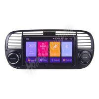 "80812A Autorádio pro Fiat 500 s 7"" LCD, Android 10.0, WI-FI, GPS, Mirror link, Bluetooth,"