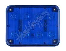 kf024blu x PREDATOR LED obdélníkový, 12/24V, 8x 3W modrý