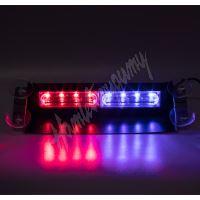 kf741blre PREDATOR LED vnitřní, 8x LED 3W, 12V, modro-červený