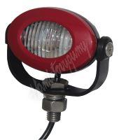 911-E33R PROFI LED výstražné světlo 12-24V 3x3W červený ECE R10 92x65mm